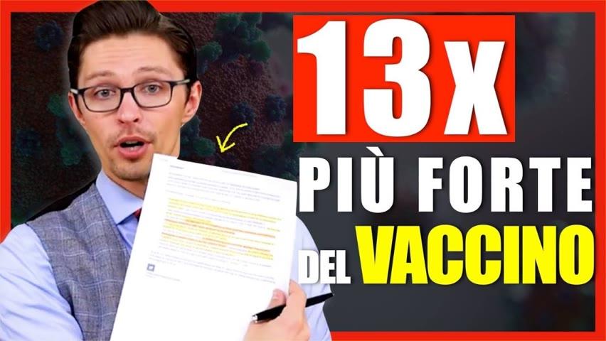 Immunità naturale-Vaccino Pfizer: dati Israele mostrano una differenza di 13x | Facts Matter Italia