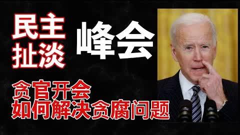 拜登搞民主峰会邀请台湾参加,胡叼盘底线又被踩,说好的五桶呢?