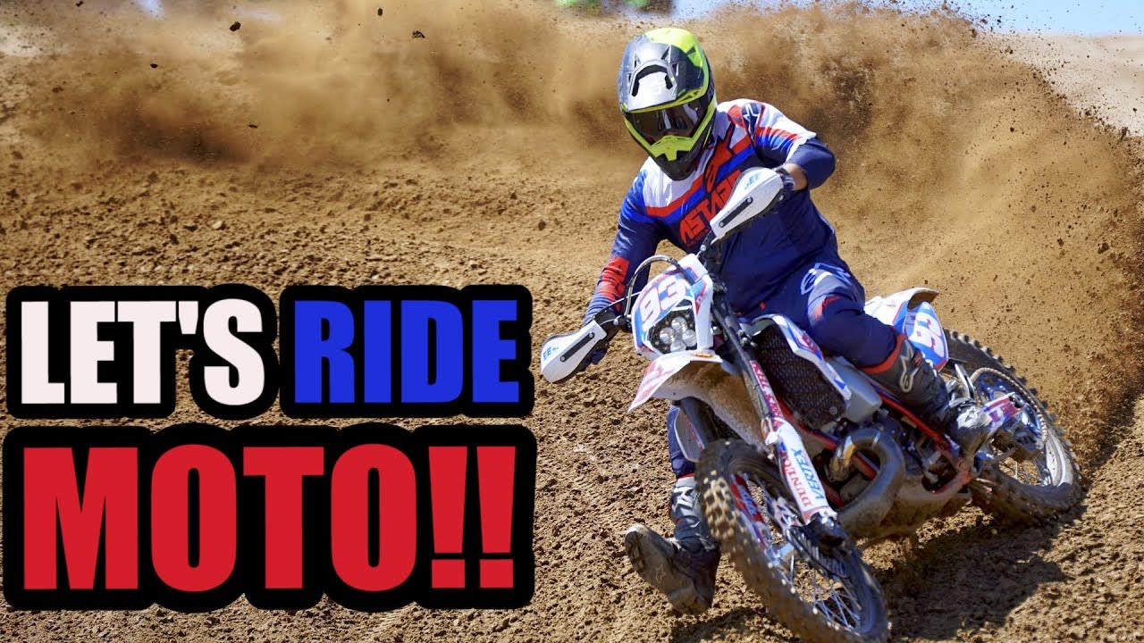KTM 300XC dirt bike build - Motocross Test!!