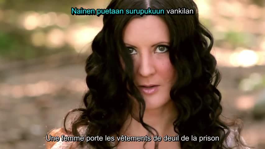 Anna Kokkonen - Kultainen maa (Karoke, French subs)