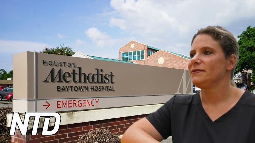 Sjuksköterska utmanar beslut om obligatorisk vaccinering | NTD NYHETER