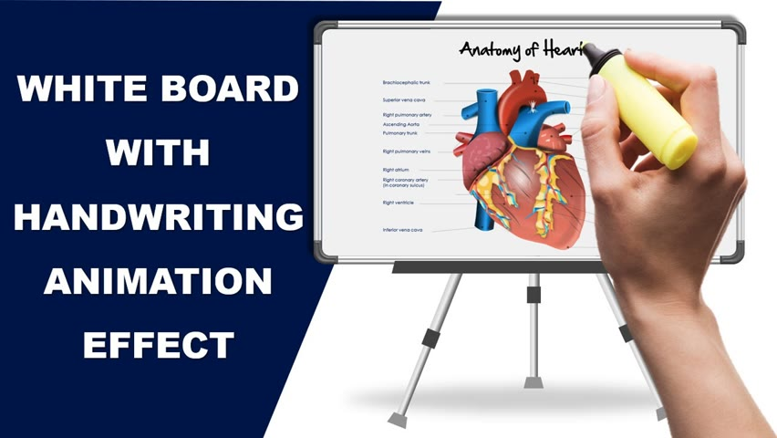 White Board Animation with a Handwriting effect in PowerPoint