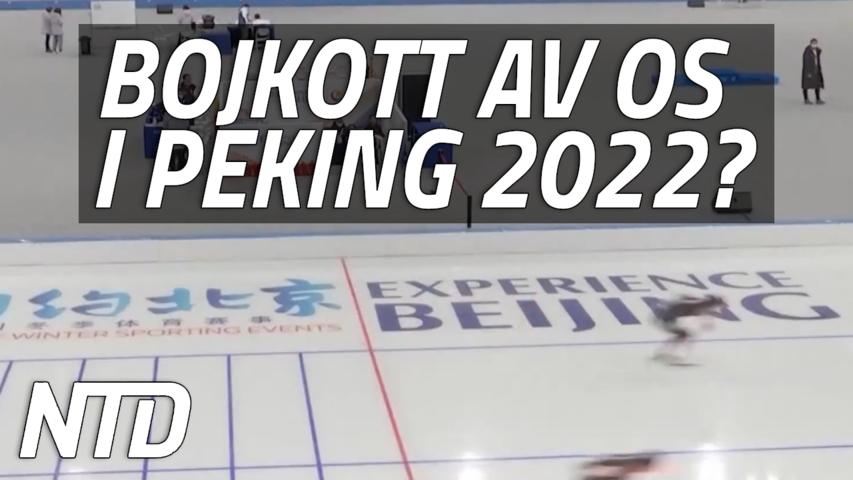 Uppmaningar till bojkott av OS i Peking 2022 | NTD NYHETER