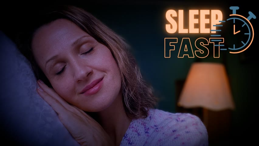 Sleep Hypnosis for Anxiety: Pass Out like a Log!   Female Voice of Olivia Kissper