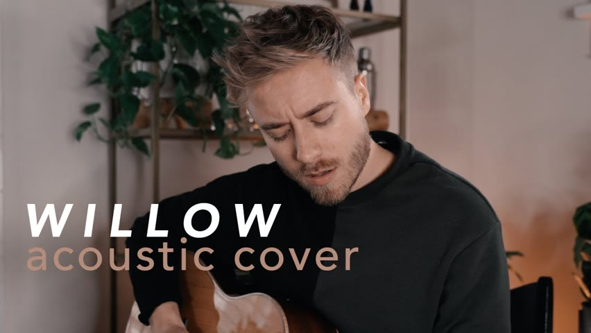 willow - Taylor Swift (Acoustic Cover by Jonah Baker)