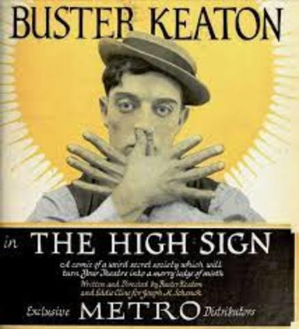 Buster Keaton – The 'High Sign'  (1921) Silent film