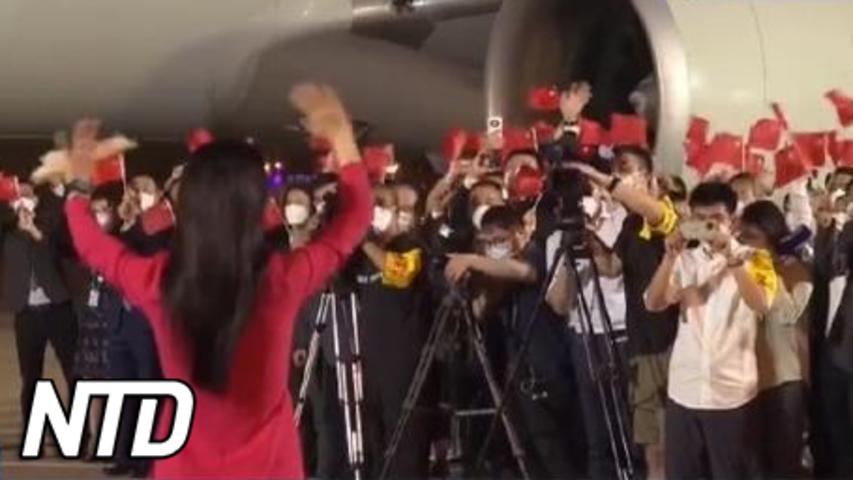 Kinesiska medier: Mengs frisläppande är en seger för Kina | NTD NYHETER