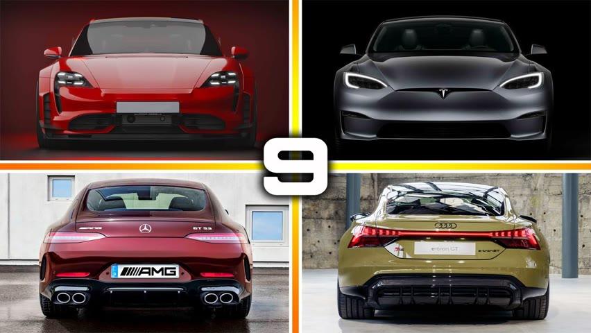 9 New Best Four-Door Sports Cars in 2021