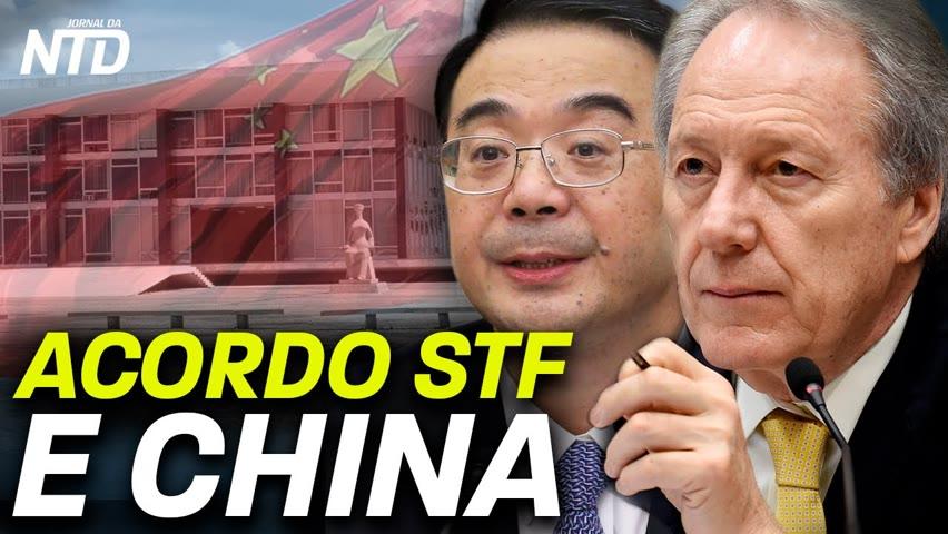 STF e China assinam memorando: relembre acordo de 2015; Senadora colombiana denuncia laços de Maduro