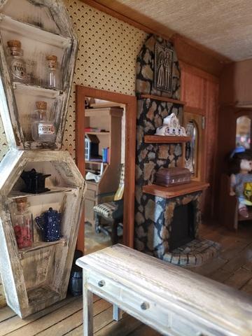 Willow's  Cottage Dollhouse slideshow