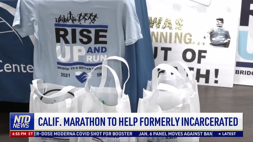 California Marathon to Help Formerly Incarcerated