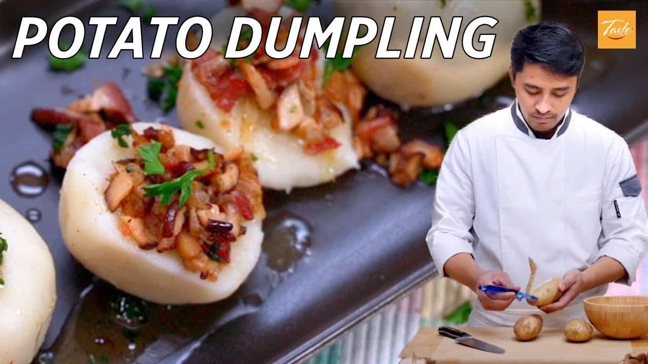 How to make potato dumplings | Potato Recipes | Taste Show