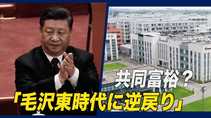 「共同富裕」?「毛沢東時代に逆戻りだ」