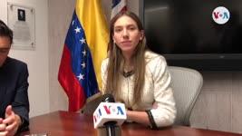 """""""Ayuda humanitaria está entrando poco a poco a Venezuela"""", esposa de Juan Guaidó"""