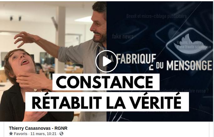 """La manipulation de """"La Fabrique Du Mensonge"""" sur France 5 : Constance témoigne"""
