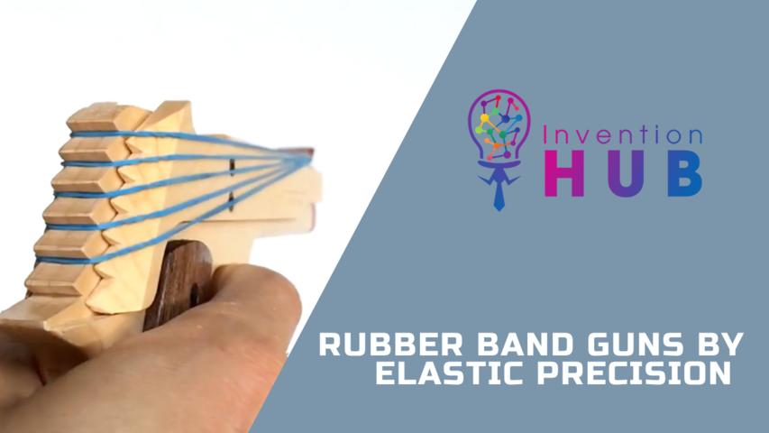 Rubber Band Guns by Elastic Precision