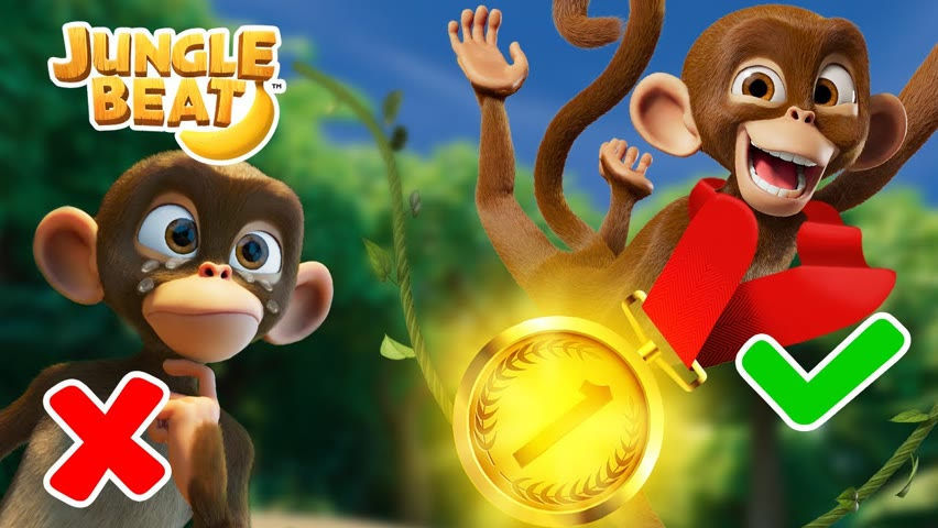 RACE TIME🏅JUNGLE OLYMPICS🏅 | Jungle Beat NEW Episode! | VIDEOS and CARTOONS FOR KIDS 2021