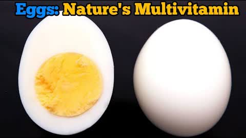 Egg : The Most Nutritious Food | Nature's Multivitamin | Why egg is most nutritious food