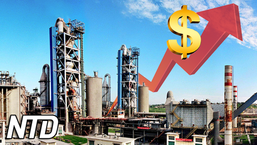 Kinas cementpriser stiger kraftigt | NTD NYHETER