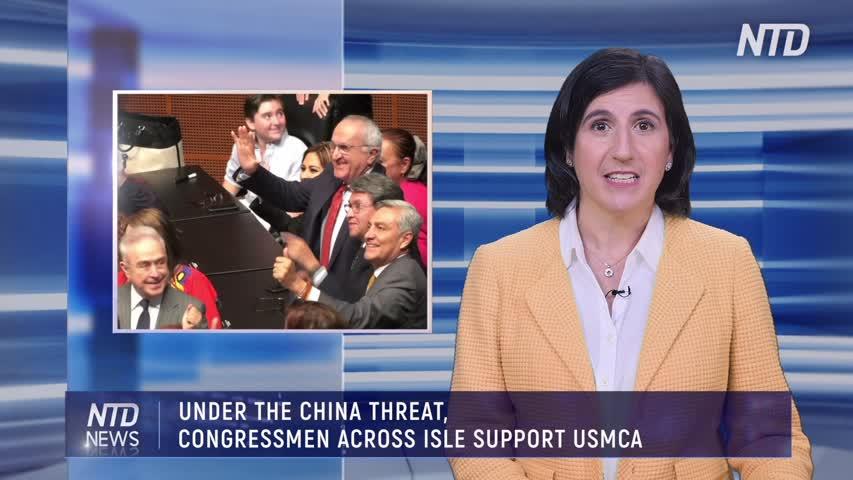 UNDER THE CHINA THREAT, CONGRESSMEN ACROSS ISLE SUPPORT USMCA