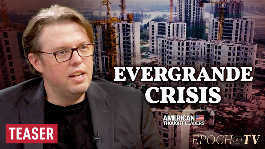 Christopher Balding: Inside China's Evergrande Crisis and the Buildup Against Taiwan   TEASER