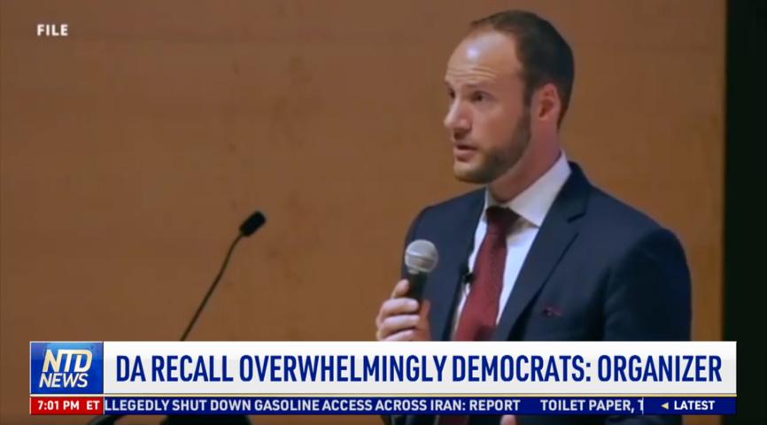 San Francisco DA Recall Overwhelmingly Democrats: Organizer