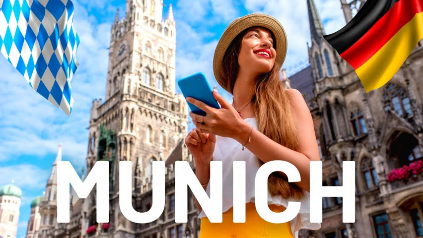 Walking in MUNICH Germany 🇩🇪 The most Popular Sightseeing and Shopping Street.