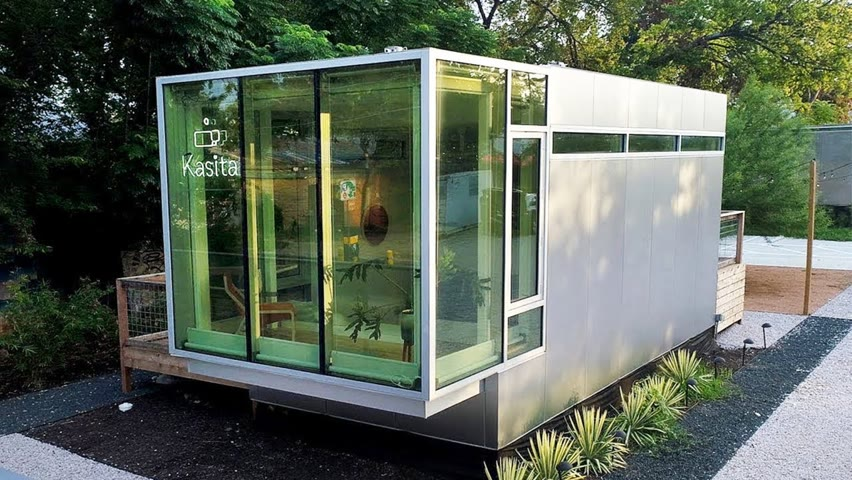 6 Great Small Prefab Homes - Most Amazing Tiny Houses ▶2