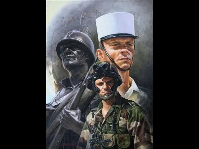 Les Képis Blancs - Chant de la Légion Étrangère