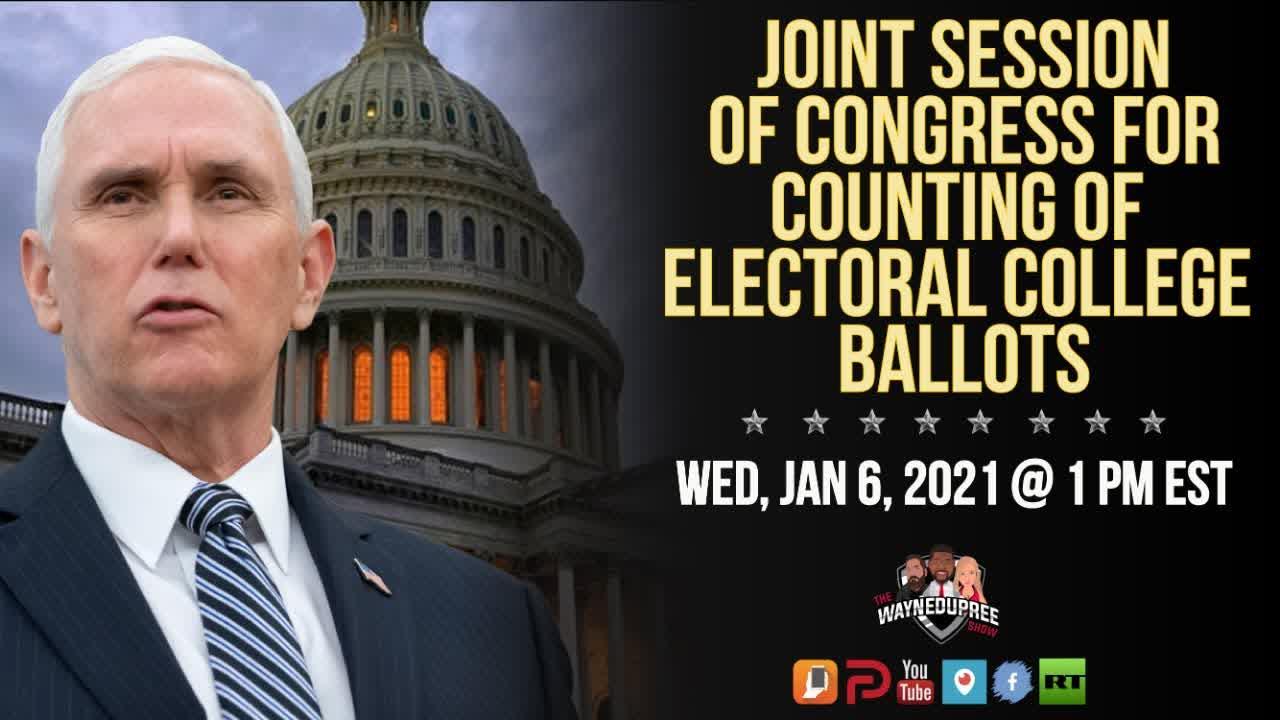 LIVE: 2020 Election Electoral College Certification | LIVE