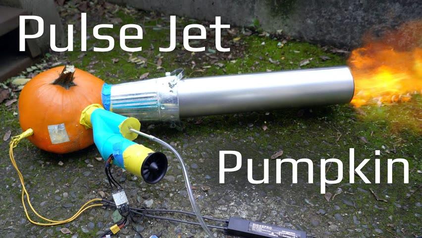 Pulse Jet Pumpkin