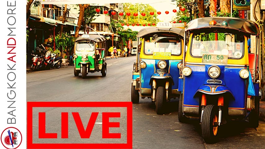 🔴 LIVE from Bangkok - Happy Monday @bangkokandmore