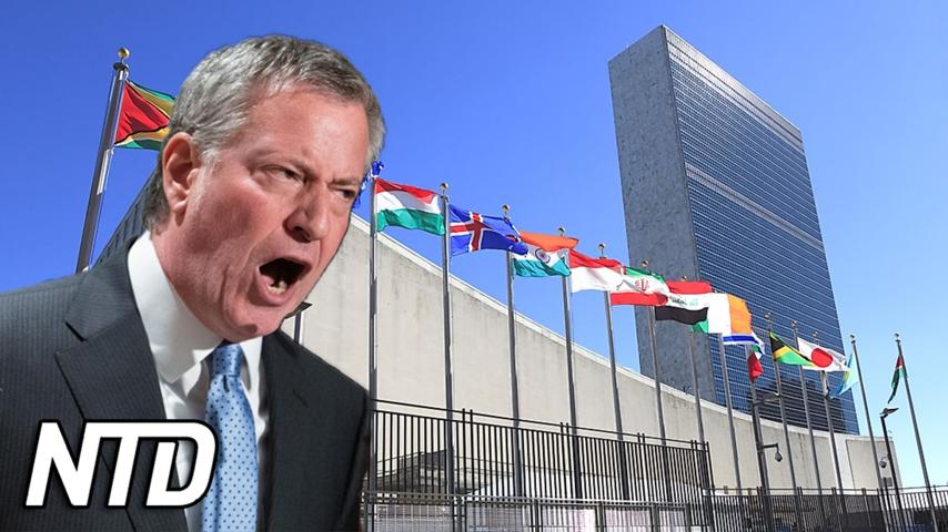 New Yorks borgmästare: Världsledare måste vaccineras | NTD NYHETER