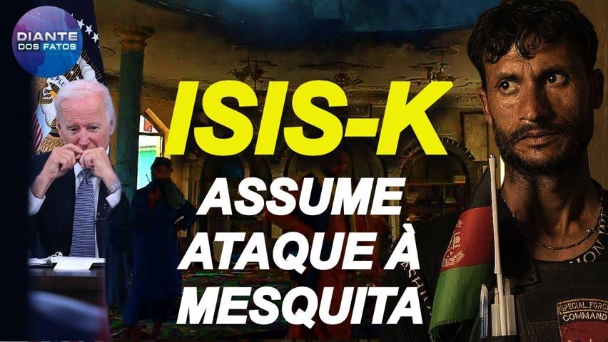 ISIS-K assume ataque mortal à mesquita; americanos restantes sāo resgatados do Afeganistāo