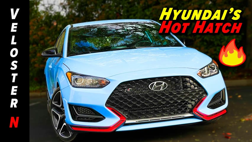 Is This Baby's First Hot Hatch, Or Just a Right-Sized Performance Car? | 2021 Hyundai Veloster N