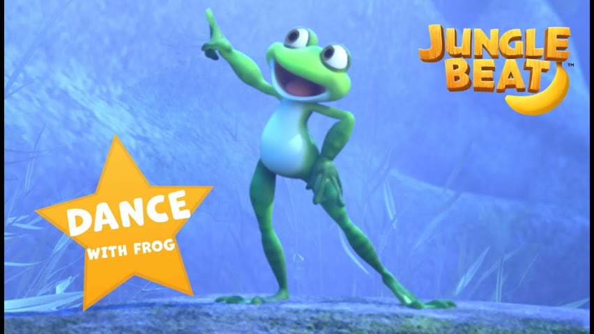 DANCE and MOVE with Ribbert! | Jungle Beat: Munki and Trunk | VIDEOS and CARTOONS FOR KIDS 2021