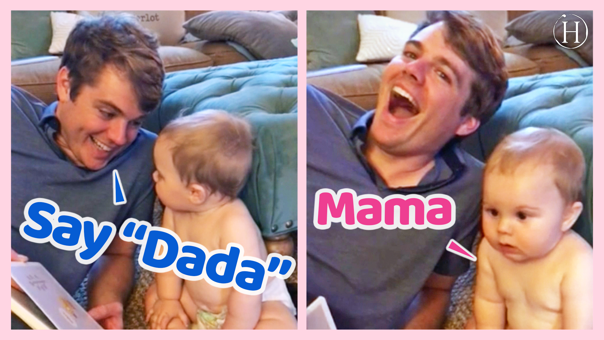 """Baby Says """"Mama"""" as First Word After Reading Book About Dad 