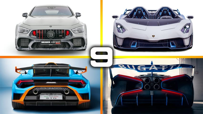 9 Newest SUPERCARS & HYPERCARS in the World 2021