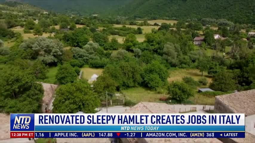 Renovated Sleepy Hamlet Creates Jobs in Italy