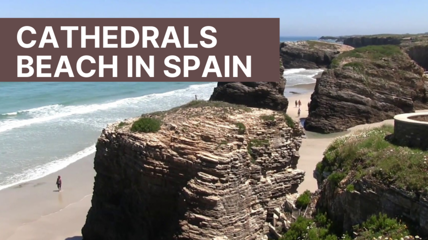 Cathedrals Beach in Spain