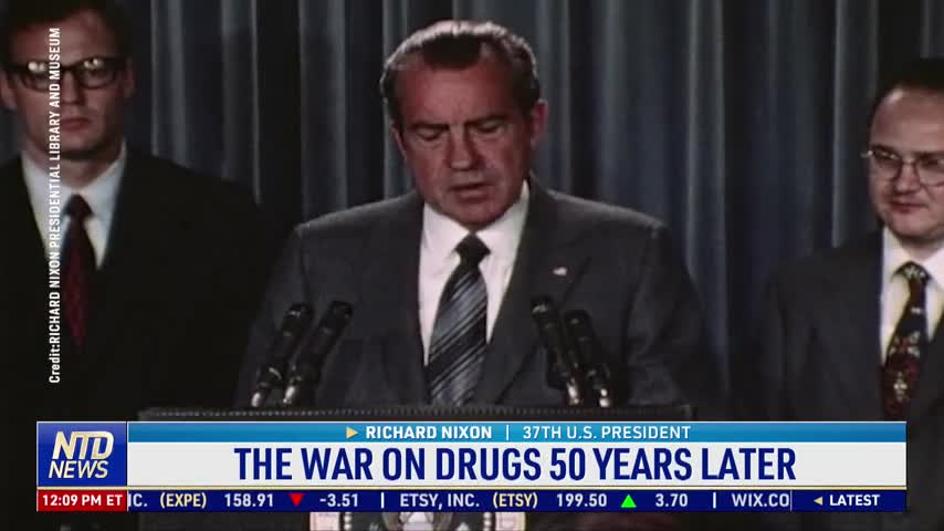 The War on Drugs 50 Years Later