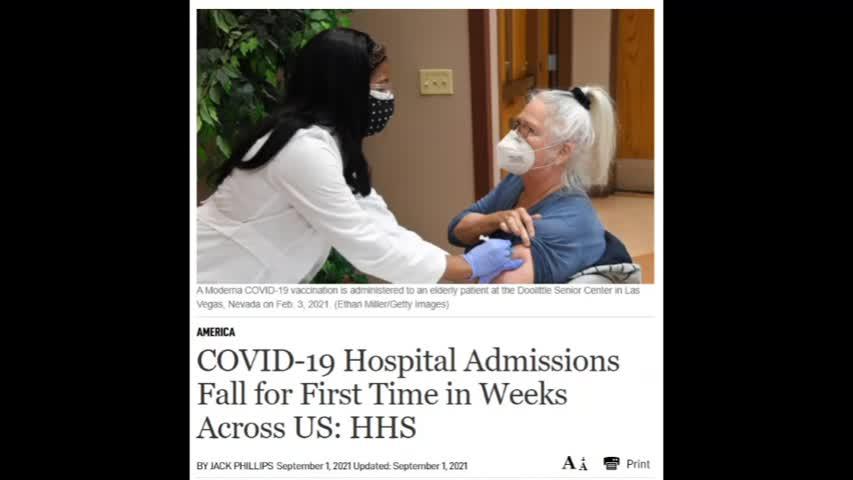 Covid 19 Hospital Admission Fall