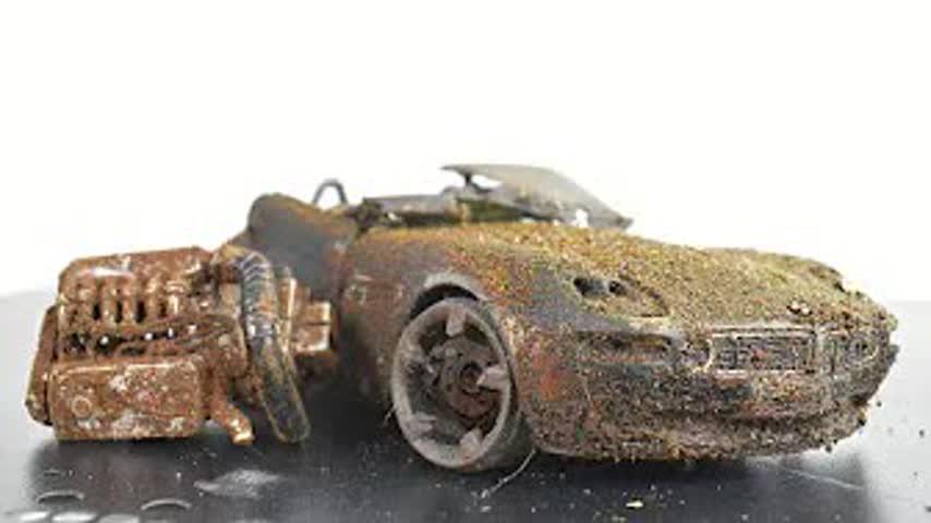 Abandoned BMW Z8 - Restoration Model Car