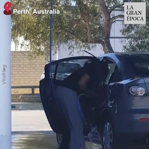 ¡Lavar el automóvil puede ser confuso!