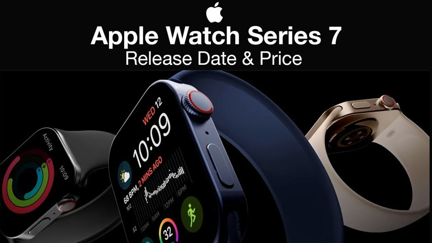 Apple Watch 7 Release Date and Price – NEW DESIGN?