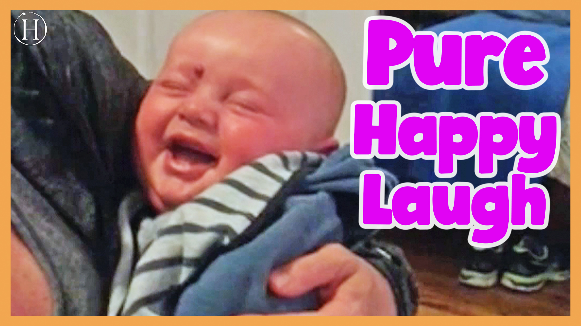 Baby Laughs At Mom Putting Pacifier in Mouth | Humanity Life