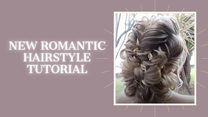 New romantic hairstyle tutorial, Farrukh Shamuratov