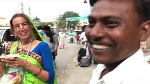 Seva with mataji Sunita ☺️