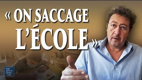 René Chiche :  « Il y a un effondrement général du niveau scolaire en France »