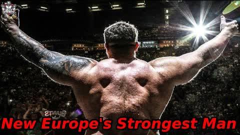 The New Europe's Strongest Man Luke Stoltman
